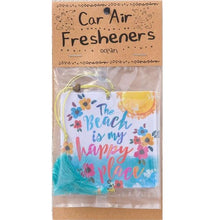 Beach Is My Happy Place Air Freshener