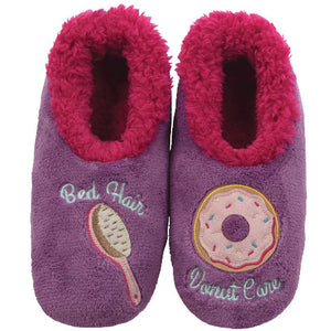 Bed Hair/Donut Care Slippers