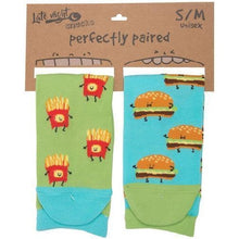Cheeseburger & Fries Socks