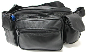 Jumbo Leather Fanny Pack