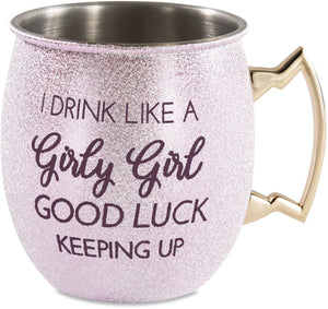 Girly Girl Moscow Mule Mug