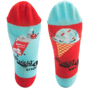 Ice Cream & Whipped Cream Socks