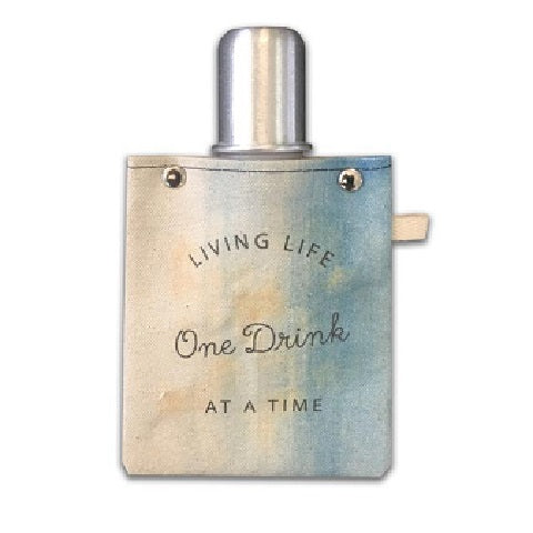 Living Life Tote Flask