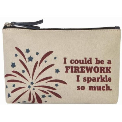 So Much Sparkle Cosmetic Bag