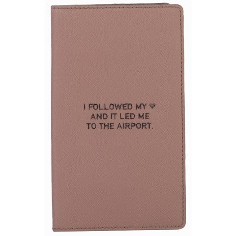 Follow Your Heart Travel Wallet