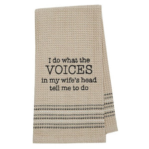 Wife's Voice Towel