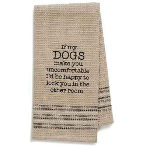 Happy Dog Towel