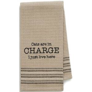 Cats in Charge Towel