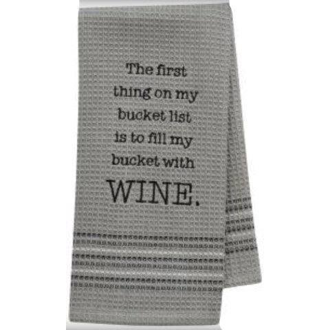 Bucket List Towel