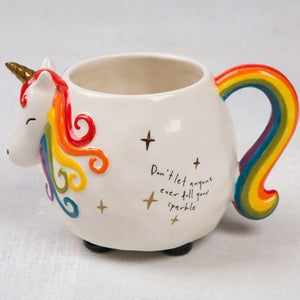 Unicorn Folk Art Mug