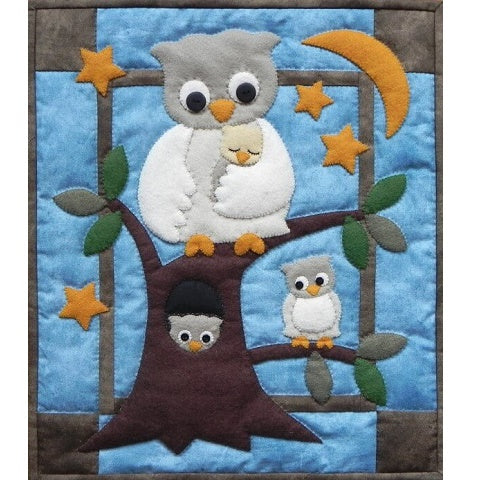 Owl Family Wall Hanging Kit