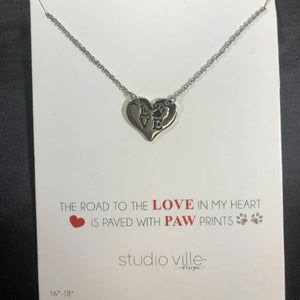 Paws for Love Necklace