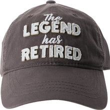The Legend has Retired Hat