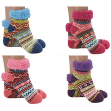 Bright Footies Sherpa Lined Socks