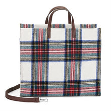 Millie Plaid Grab Handle Tote