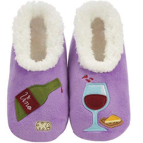 Wine O'Clock Slippers