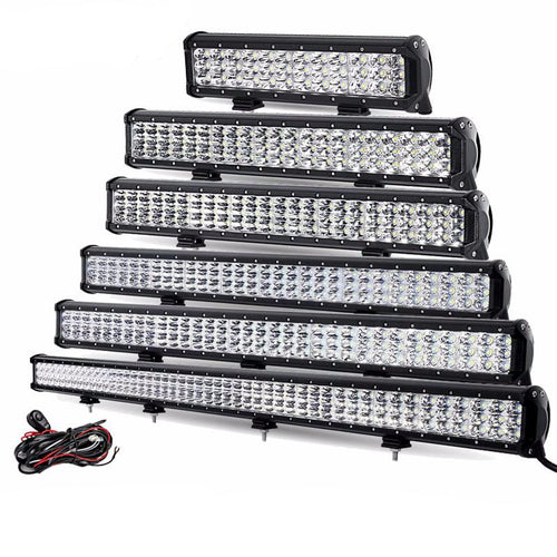 3-Row LED High Power Light Bars (12