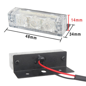 Emergency Style Grill Lights (Red, Blue, White, Amber)