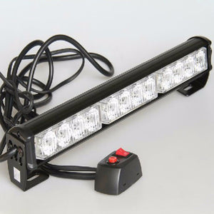 "Red, White & Blue Emergency Style Light Bars (10"" - 28"")"