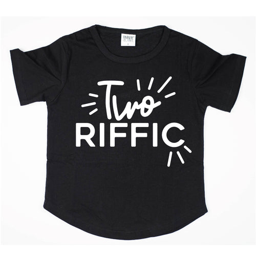Two-riffic | Birthday Tee