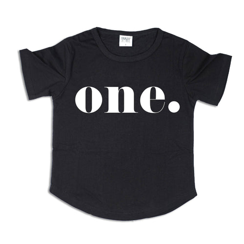 ONE. | Birthday Tee