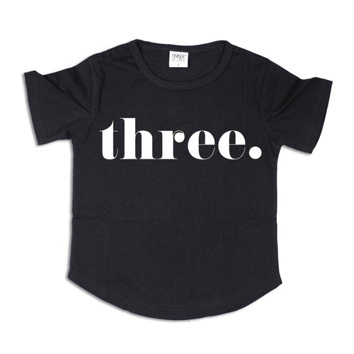 THREE. | Birthday Tee