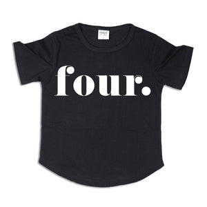 FOUR. | Birthday Tee