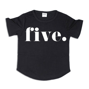 FIVE. | Birthday Tee