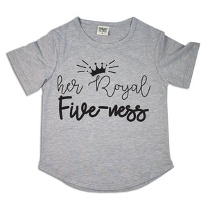 Her Royal Five-ness | Birthday Tee