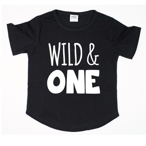 Wild & One | Birthday Tee