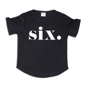 SIX. | Birthday Tee