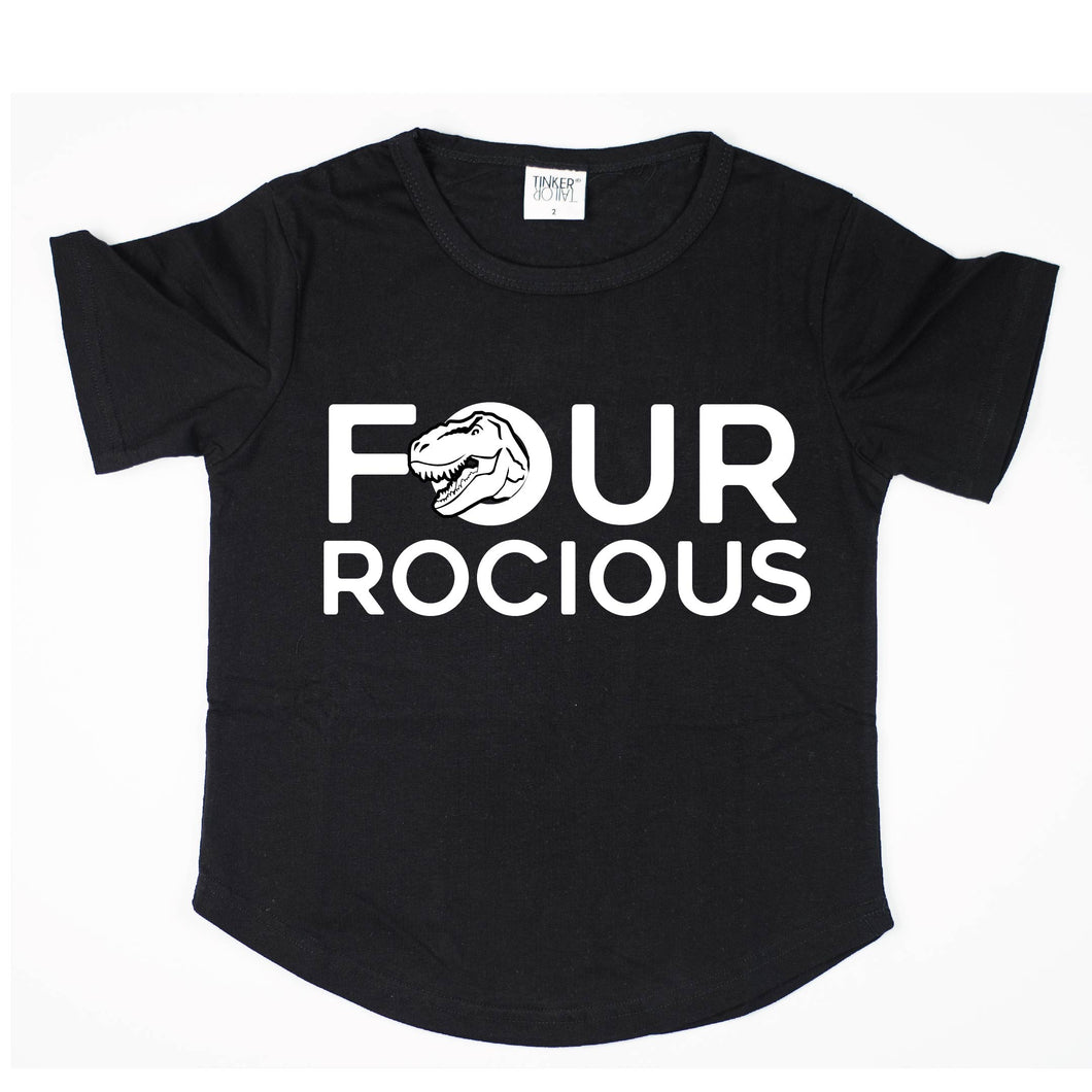 Four-rocious | Birthday Tee