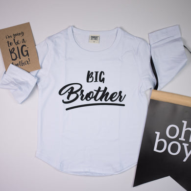 Big Brother | WHITE TEE