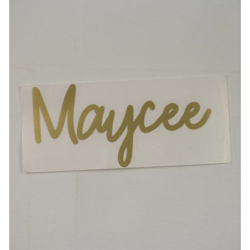 Maycee - Drink Bottle Decal