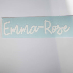 Emma-Rose Decal