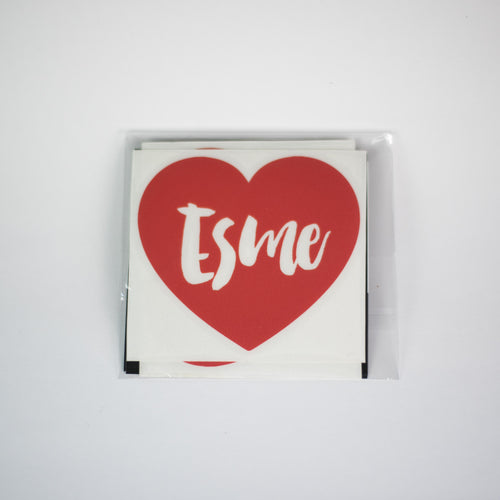 ESME HEART DECALS | RTS