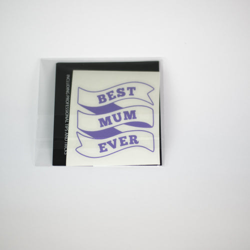 BEST MUM EVER - PURPLE | RTS