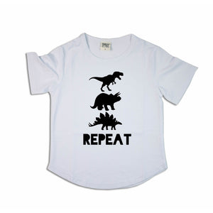 Dinosaur Repeat | Scoop Tee