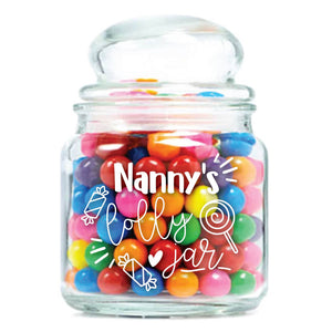 Lolly Jar Decal