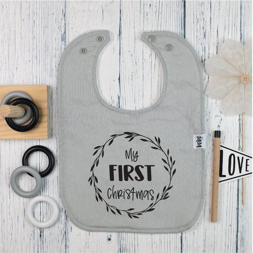My First Christmas | Bib