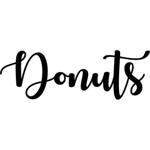Donuts | Decal