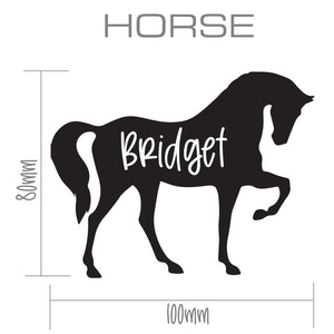 HORSE | Shaped Decal Set of 2