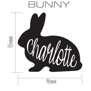 RABBIT | Shaped Decal Set of 2