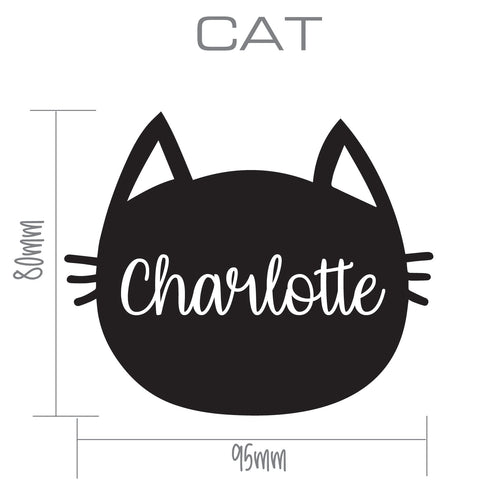 CAT | Shaped Decal Set of 2