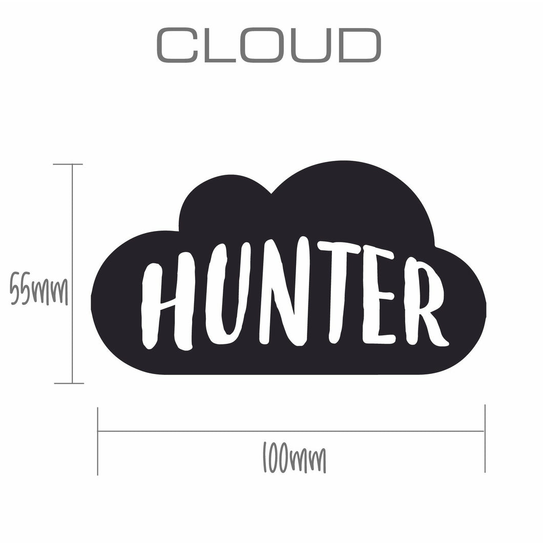 CLOUD | Shaped Decal Set of 2