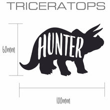 TRICERATOPS | Shaped Decal Set of 2