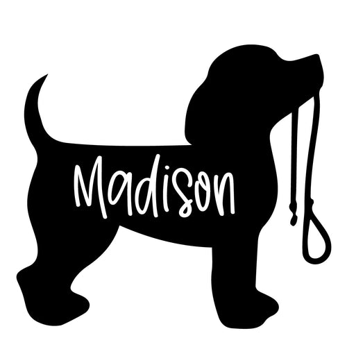 DOG | Shaped Decal Set of 2