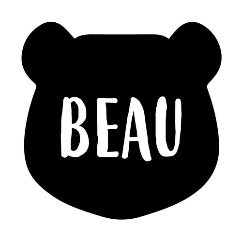 BEAR | Shaped Decal Set of 2