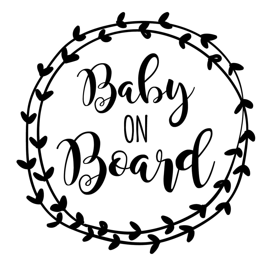 Baby on Board | DECAL