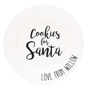 Santa Cookie/Milk | Decals